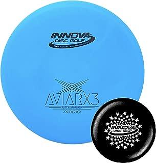 Innova Discs Golf DX AviarX3 Disc Golf Putter with Stars Stamp Innova Mini (Colors Will Vary)