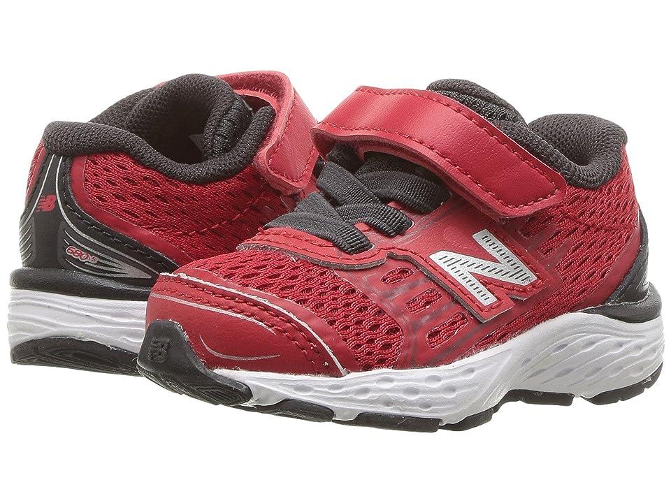 New Balance Kids KA680v5I (Infant/Toddler) (Team Red/Phantom) Boys Shoes