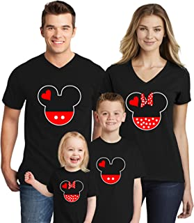 mickey minnie matching shirts