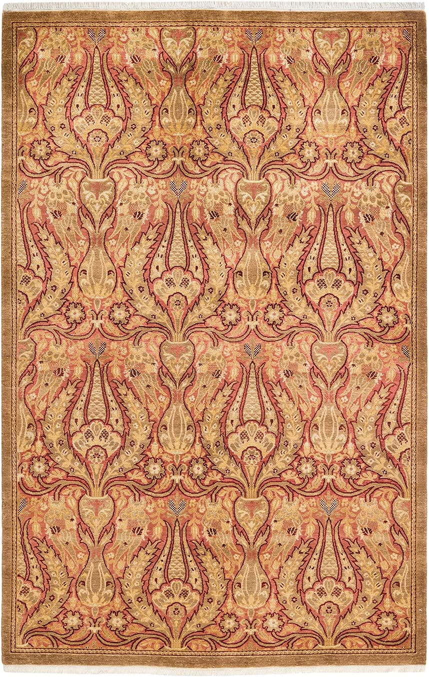 Manufacturer OFFicial shop Long-awaited Solo Rugs Mogul Traditional Hand Made Knotted One-of-a-Kind