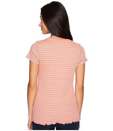 POLO Sleeve S Short Knit Rib ASSN Striped U Shirt T qwP5SS