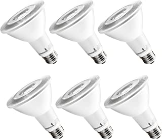 Hyperikon LED PAR30 Bulb, Long Neck 75 Watt Replacement (12W), Dimmable Spot Light E26, 4000k Daylight, CRI90, 6 Pack