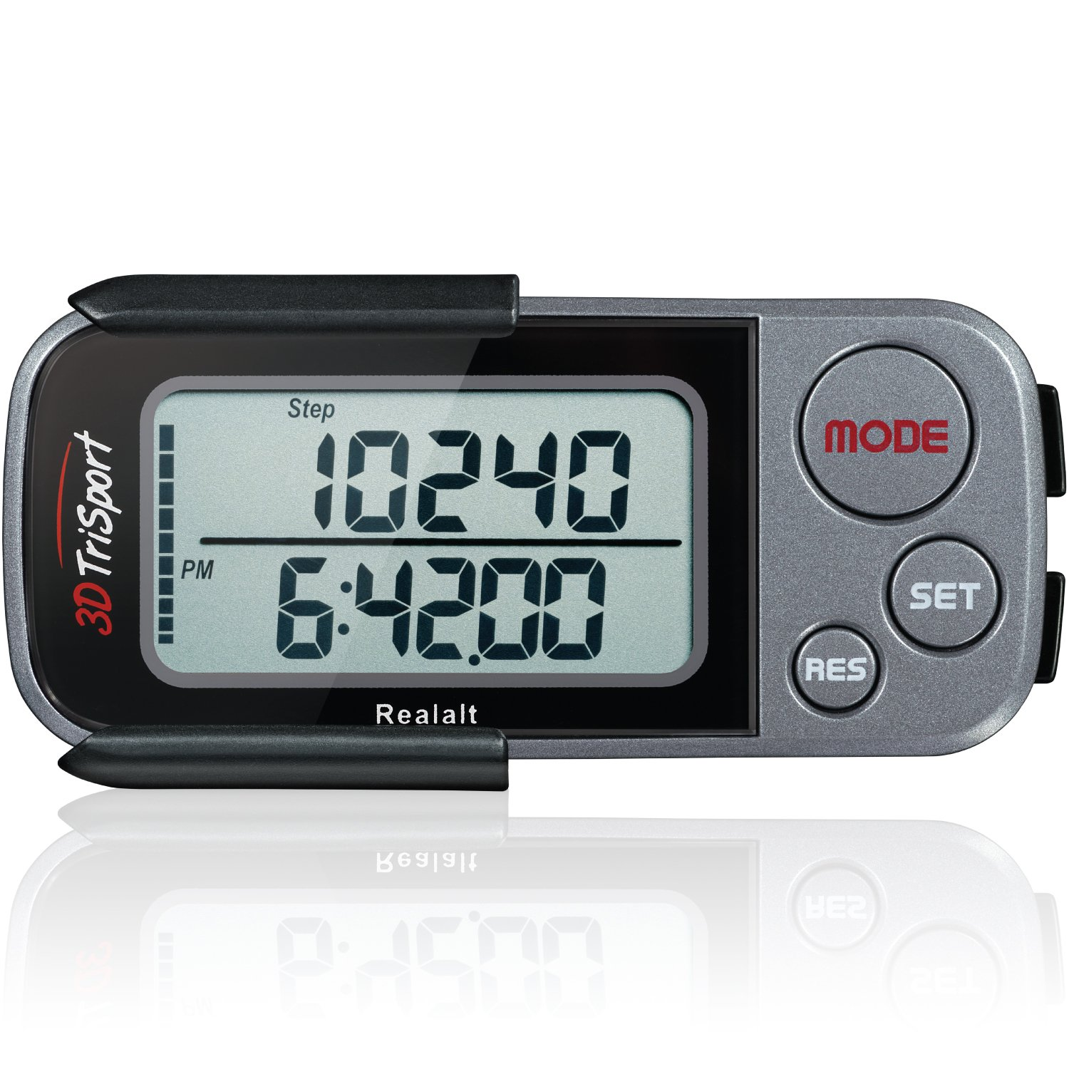 3DTriSport Pedometer Accurate Distance Exercise