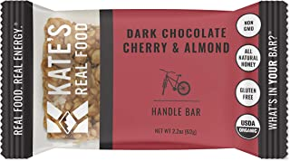 Kate's Real Food Organic Energy Bars, Non-GMO, All-Natural Ingredients, Gluten-Free and Soy-Free Healthy Snack with Natura...
