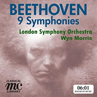 Beethoven: 9 Symphonies - Wyn Morris, London Symphony Orchestra (MC Classical Library)