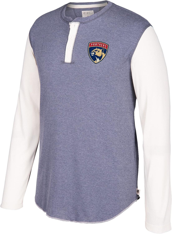 NHL Mens CCM L S Henley