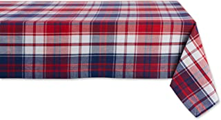 DII Americana Plaid Collection Kitchen, Tablecloth, 60x104