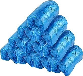 LedooCubrezapatos 200Pcs Cubrezapatos desechables Cubrezapatos de protección Suela antideslizante Cubrezapatos antideslizantes