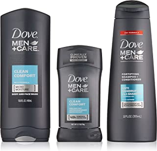 Dove Men+Care Everyday Gift Pack, Clean Comfort,