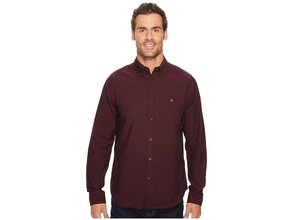 Fjallraven Ovik Foxford Shirt (Dark Garnet) Men