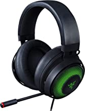 Razer Kraken Ultimate RGB USB Gaming Headset: THX 7.1 Spatial Surround Sound - Chroma RGB Lighting - Retractable Active No...