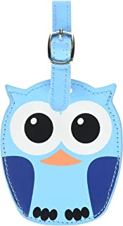 Kikkerland Whoo Owl Luggage Tags, Assorted (TT12-A)