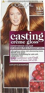 L'Oréal Casting Créme Gloss Golden Henna 543