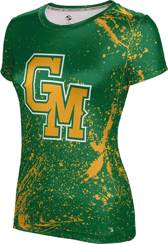 ProSphere George Mason University Girls' Performance T-Shirt (Splatter)