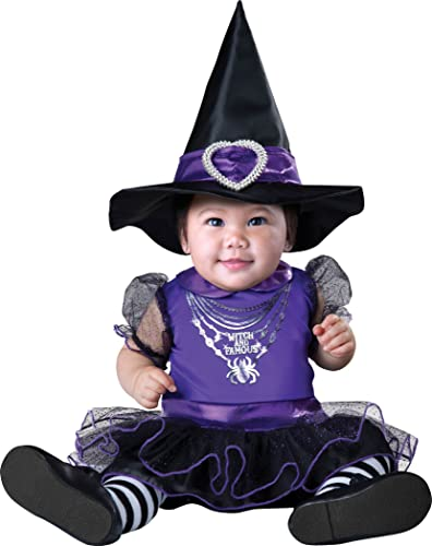 Witch and Famous Infant Fancy Robe Costume 6-12 Months to 18-23 Months (0-6 months) by Poshtotz