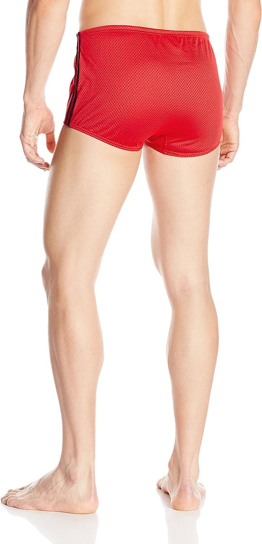 Speedo Mens Poly Mesh Square Leg Swimsuit