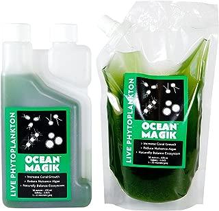AlgaeBarn OceanMagik Live Phytoplankton Blend - Tetra x Nanno x Iso x Thal Phyto Coral, Reef, Fish & Copepod Food