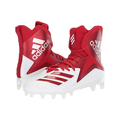 adidas Freak x Carbon High (Footwear White/Power Red/Power Red) Men