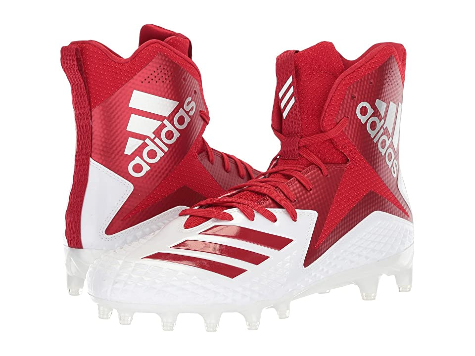 adidas Freak x Carbon High (Footwear White/Power Red/Power Red) Men
