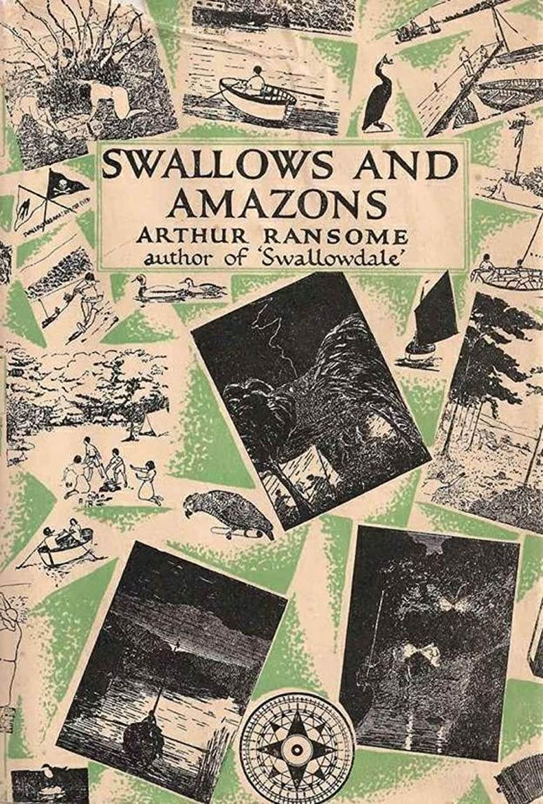 練る狂人主婦Swallows and Amazons (English Edition)