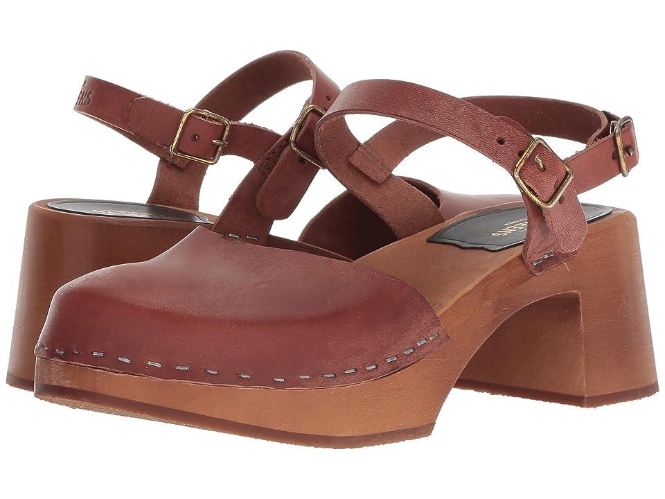 Swedish Hasbeens Irene (Cognac/Cognac Sole) High Heels