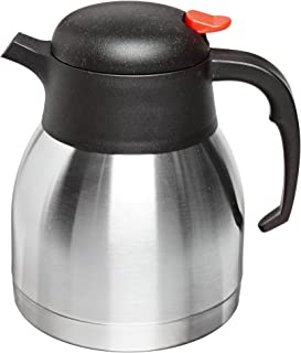 Best stainless steel carafe vs glass Reviews