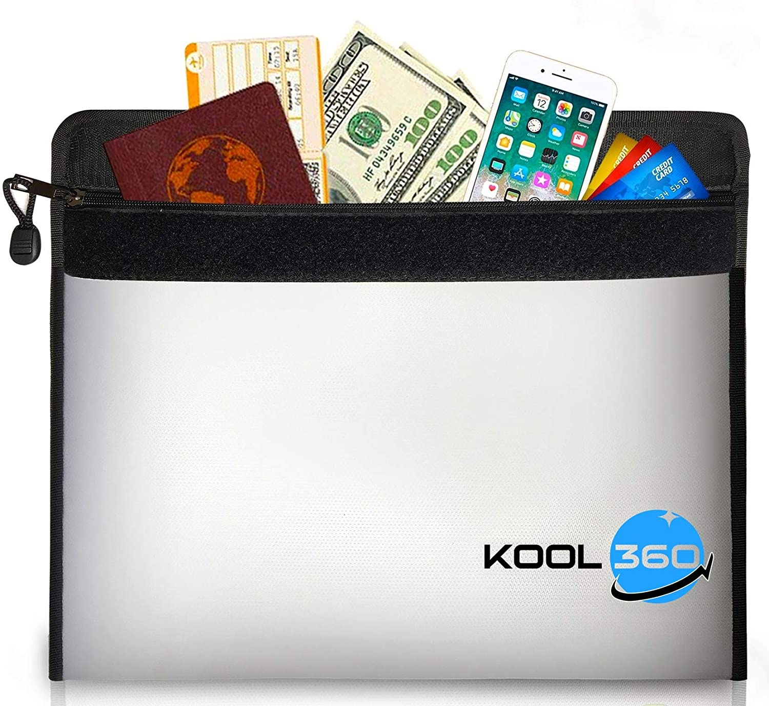 """2192°F Fireproof Bag Limited Product time cheap sale for 9.5"""" Documents A4 13.5""""x"""
