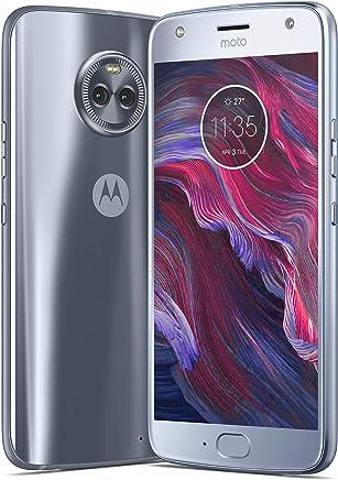 Motorola Moto X4 Dual SIM - 64GB, 4GB RAM, 4G LTE, Sterling Blue