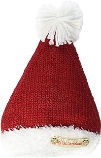 قبعة سانتا ماي فيرست كريسماس للأطفال من ماد باي، أحمر، 0-6 أشهر