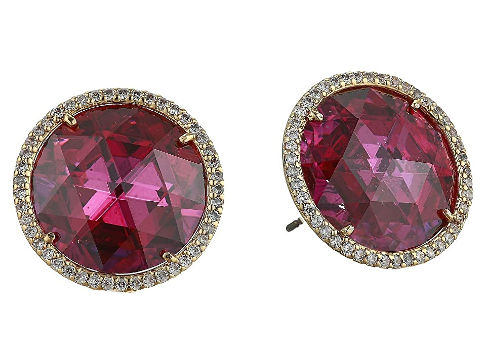 Kate Spade New York She Has Spark Studs Earrings (Fuchsia) Earring