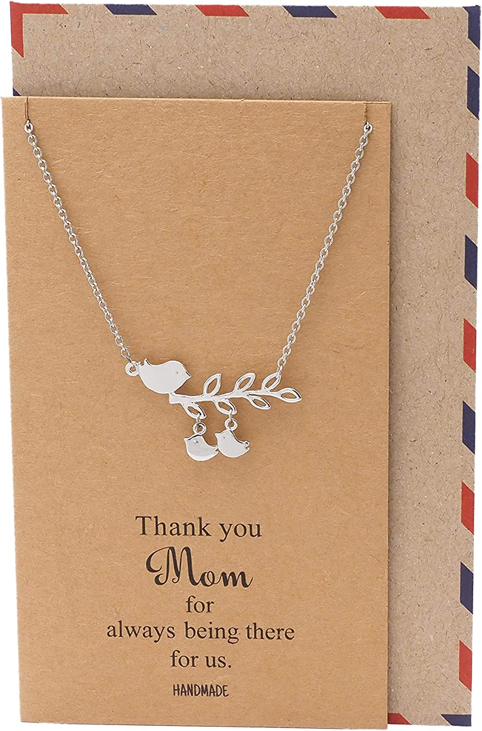 Quan Jewelry Handmade Mother's Day Daughters Mom Necklace Online Challenge the lowest price limited product Gifts