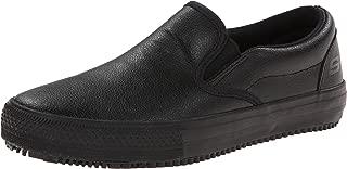 women's black uniform shoes