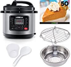 GoWISE USA 8-Quarts 12-in-1 Electric Pressure Cooker + 50 Recipes for your Pressure..