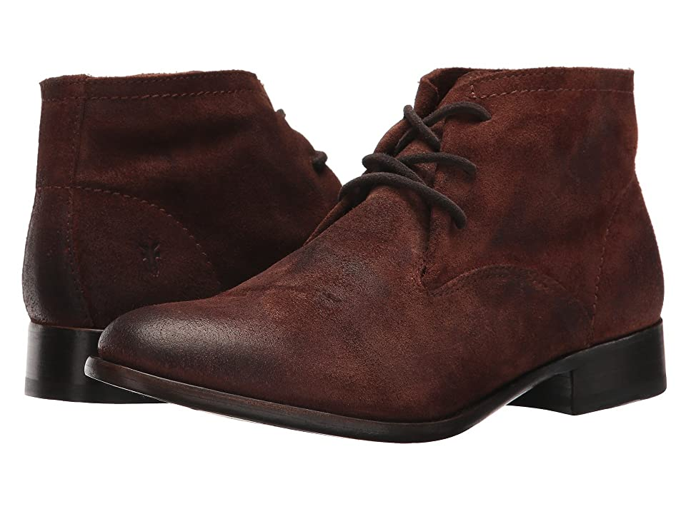 Frye Carly Chukka (Brown Oiled Suede) Women