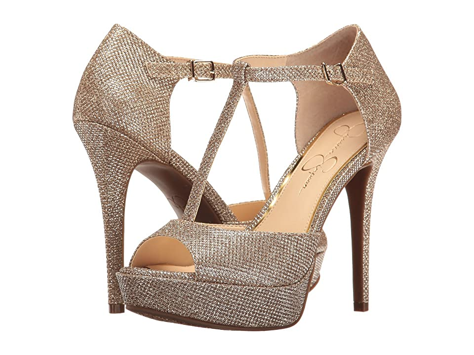 Jessica Simpson Bansi (Gold) High Heels