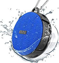 Olafus Shower Speaker IPX7 Waterproof Bluetooth 5.0 Wireless Mini Speakers with Detachable Suction Cup, Handsfree Bathroom Speaker HD Sound 10H Playtime Built-in Mic for Outdoor Beach Pool Hiking