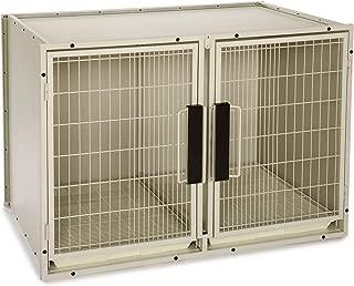 ProSelect Steel Modular Kennel Pet Cage, Large, Sandstone