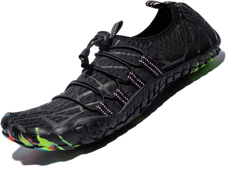 Mens Womens Water Sport Shoes Barefoot Quick-Dry Aqua Socks for