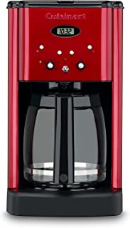 Cuisinart Brew Central 12-Cup Programmable Coffeemaker, Red