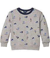 Polo Bear Cotton Sweatshirt (Little Kids/Big Kids)