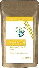 VITARAGNA Bimuno Flora Ballaststoff-Komplex mit GOS als Pulver - die Muttermilch auch für Erwachsene, für die Darmflora und Darm-Bakterien, 150g