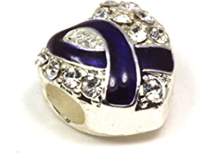 pancreatic cancer bracelet swarovski
