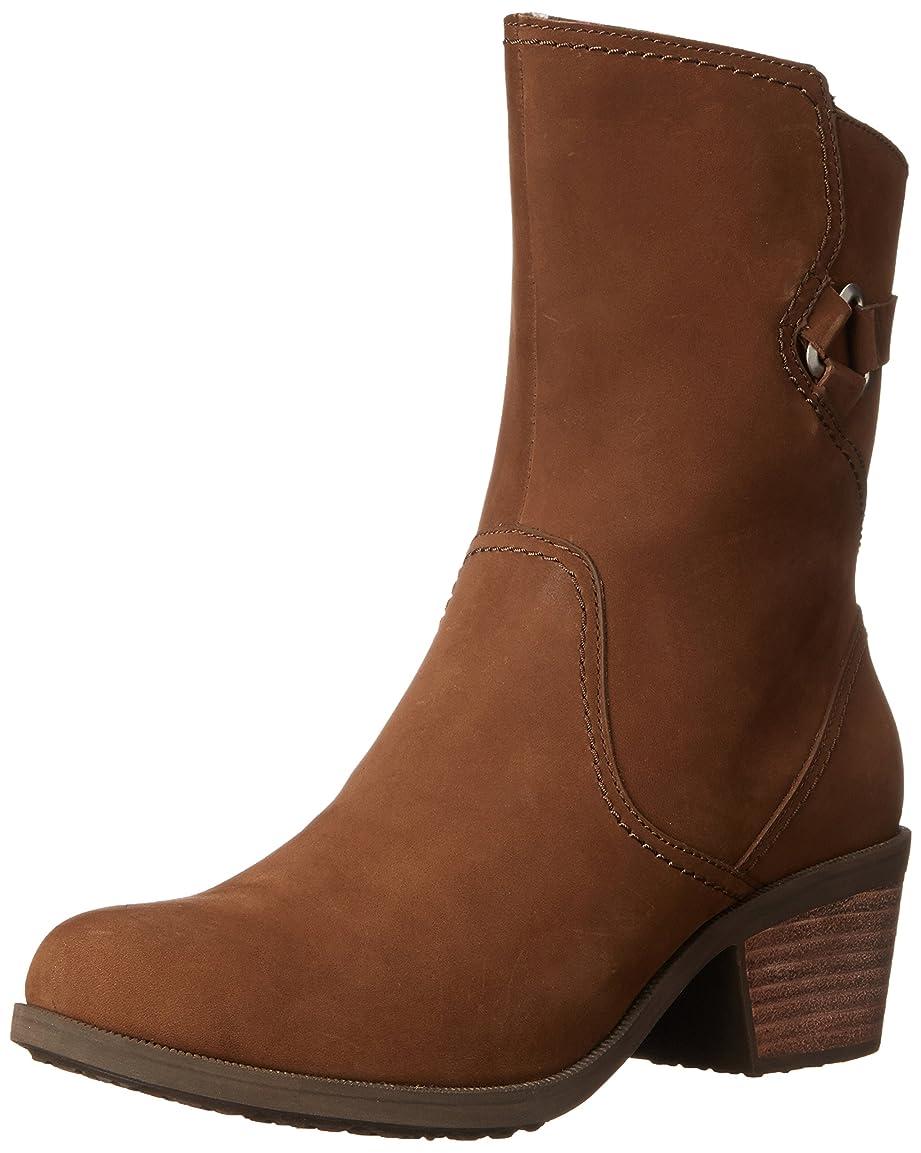 かみそり横アンカーTeva Women's Foxy Mid Bison Mid-Calf Suede Boot - 6.5M