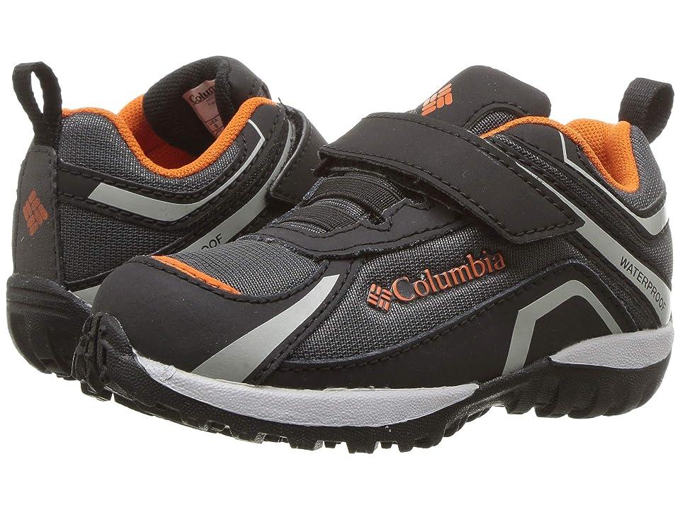 Columbia Kids Conspiracytm Waterproof (Toddler/Little Kid) (Dark Grey/Heatwave) Boys Shoes