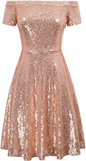 GRACE KARIN Sequined Evening Dress for Women