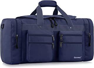Gonex 45L Travel Duffel Bag Gym Bag Sports Duffle Bag Weekender Bag Luggage Duffel for Men Women for Hiking Camping Travelling Cycling with Multi-Pockets