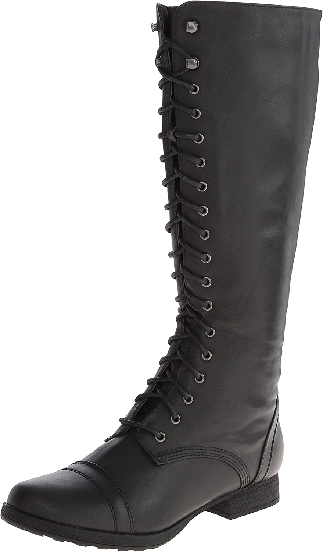 Madden girl Women's Saalute Combat Boot