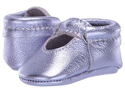 Freshly Picked Lilac Metallic Ballet Flat (Infant/Toddler) (Purple) Girl