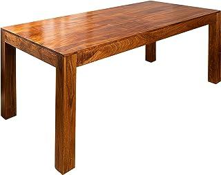 MASSIVMOEBEL24.DE Table à Manger 180x90cm - Bois Massif d'acacia laqué (Miel) - Oxford #36