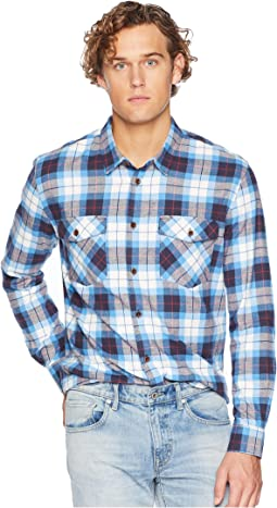 Wade Creek Long Sleeve Flannel Shirt